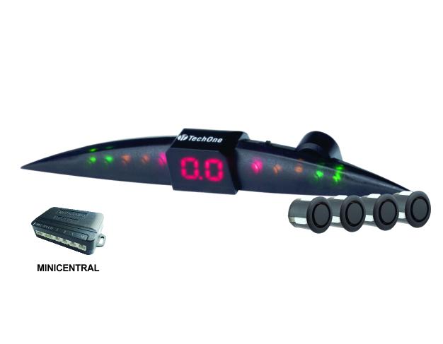 Sensor de estacionamento prime