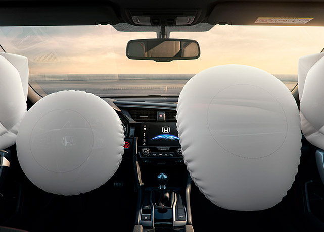 civic si airbags