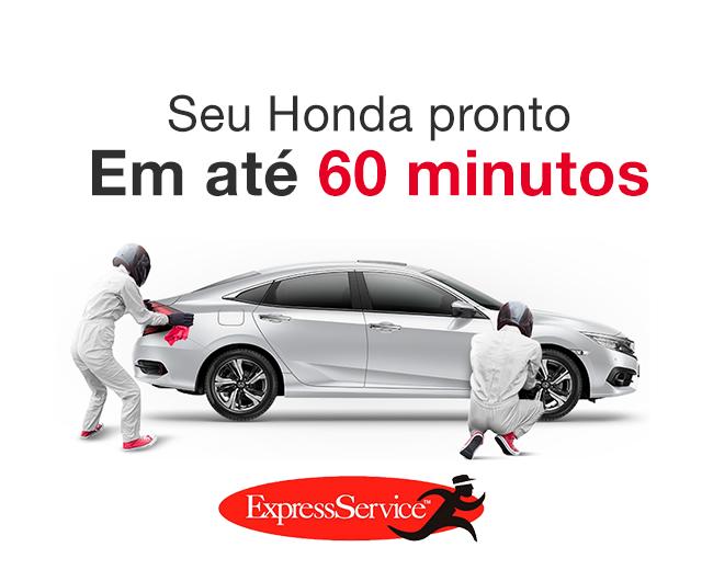 Serviço Express Service Honda