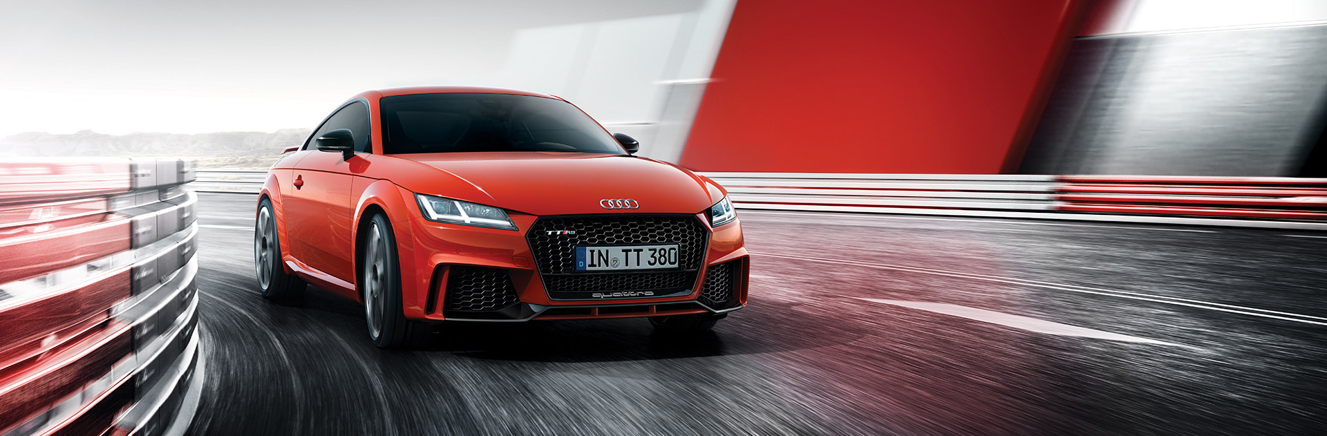 banner audi tt rs coupe