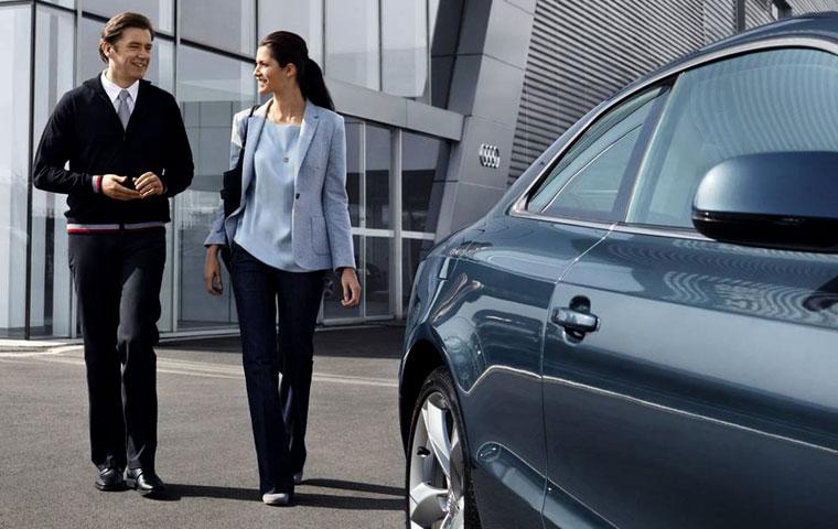 Veículo Audi garantia estendida