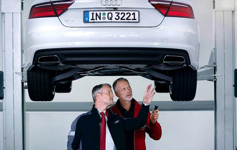 Assistência Audi Class Service