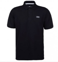 camisa polo audi front rings masculina