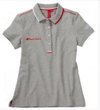camisa polo audi sport mc feminina