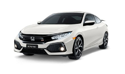 miniatura Civic SI Coupé White Orchid Pearl