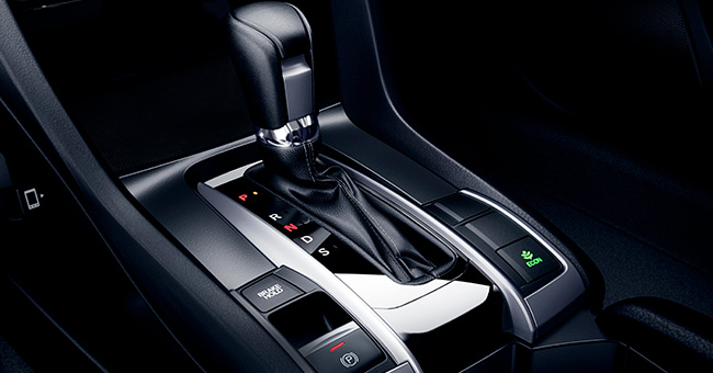 Câmbio CVT com Paddle Shift