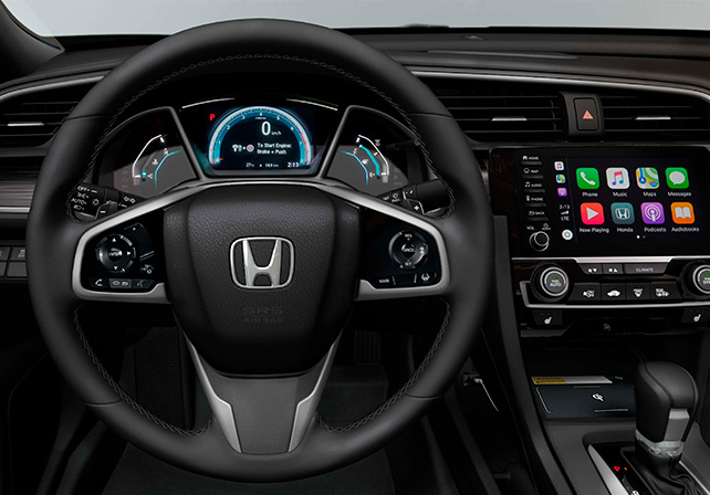 tela multimídia Honda Civic câmera ré