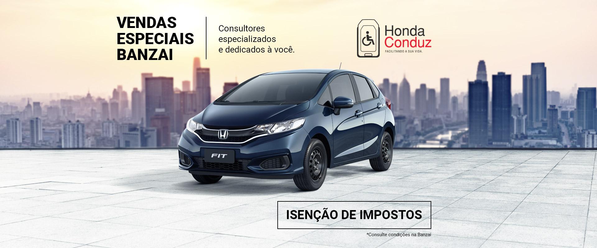 Banner Honda Banzai