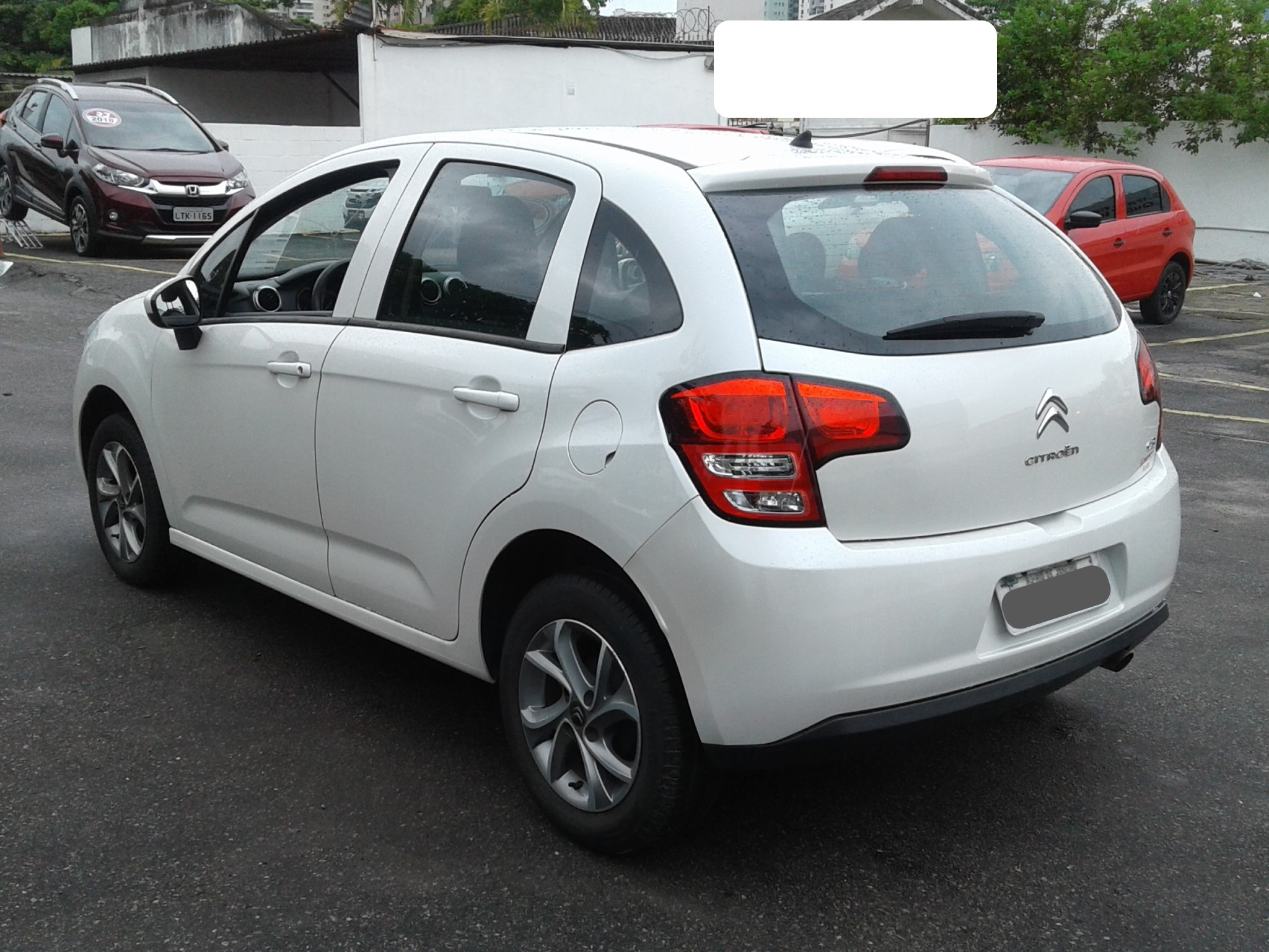 Citroën C3 C3 Attra/Origine Pack 1.5 Flex 8V 5p Mec