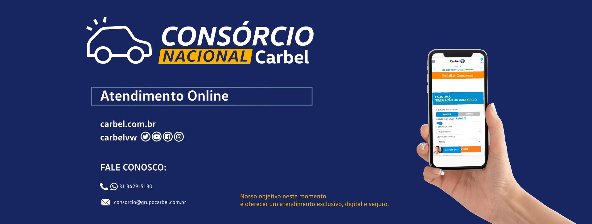 Banner informativo | Consórcio