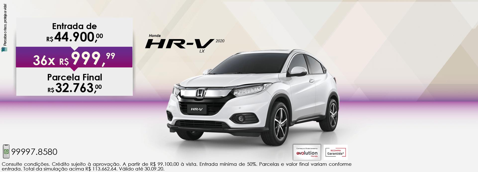 HR-V LX 2020