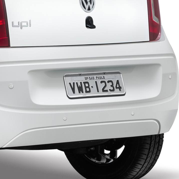 Kit sensor de estacionamento traseiro