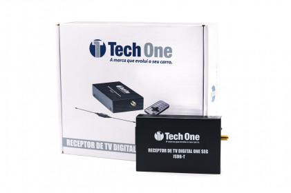 Receptor de TV Digital One Seg Tech One