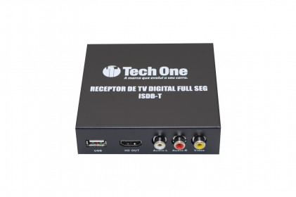 Receptor de TV Digital Full HD Tech One