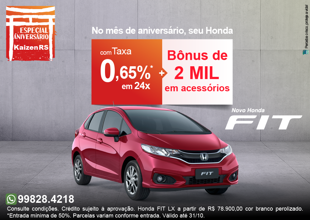 Campanha Honda FIT