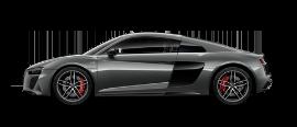 foto do modelo r8 coupe v10 plus