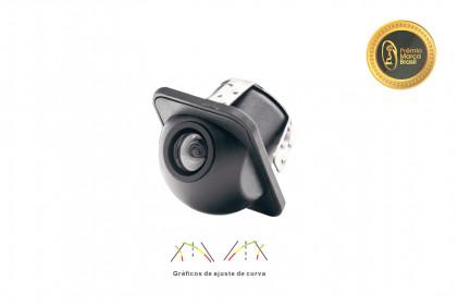 Câmera de Ré Automotiva Tartaruga com Sensor de Curva Tech One