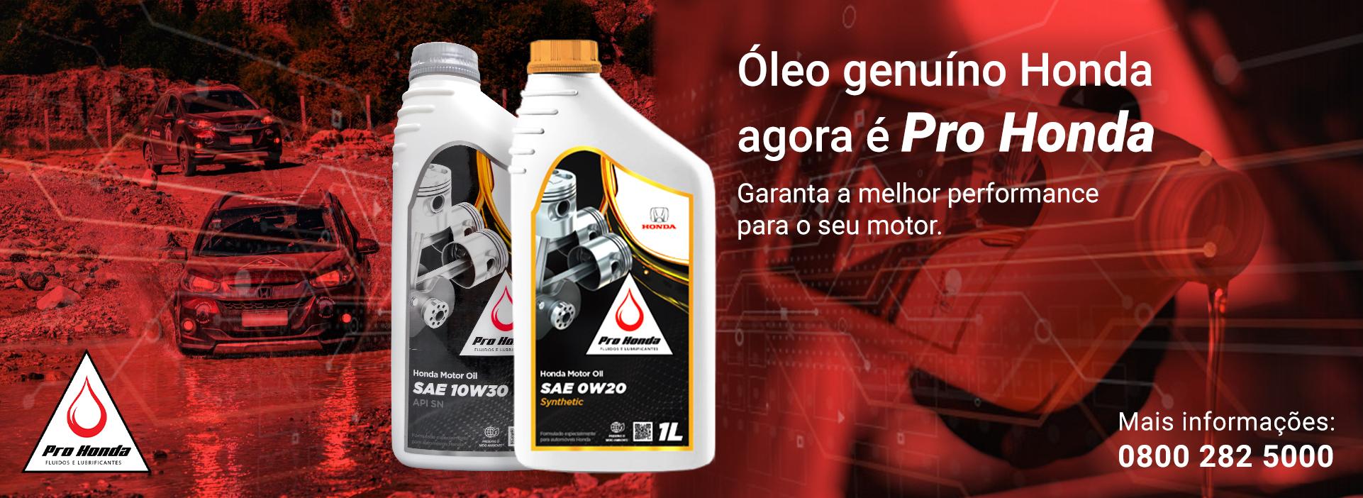 Óleo Pro Honda