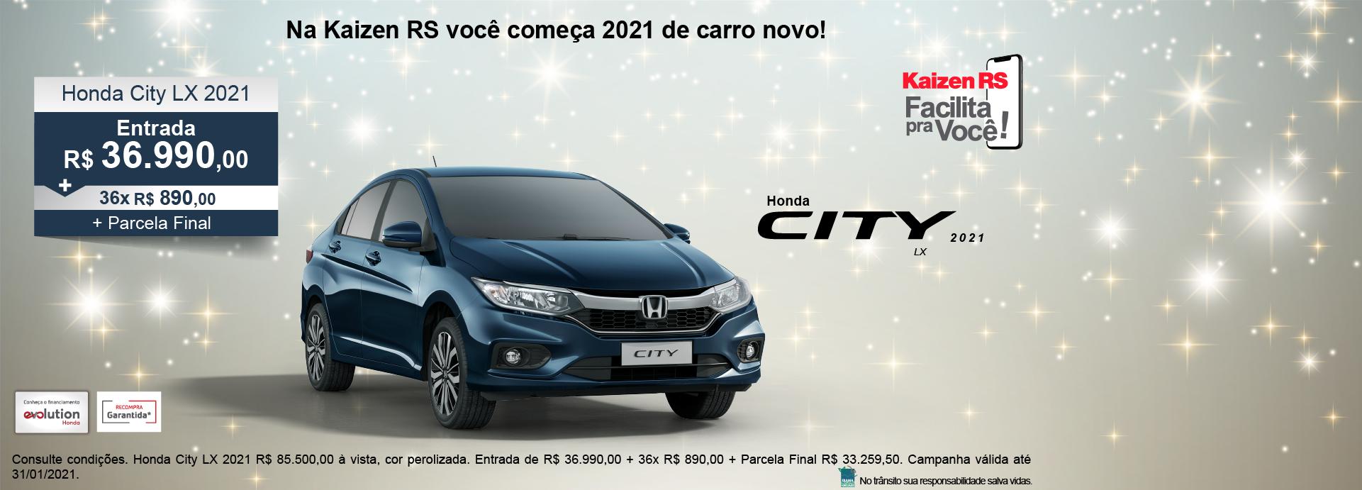 Campanha Honda City