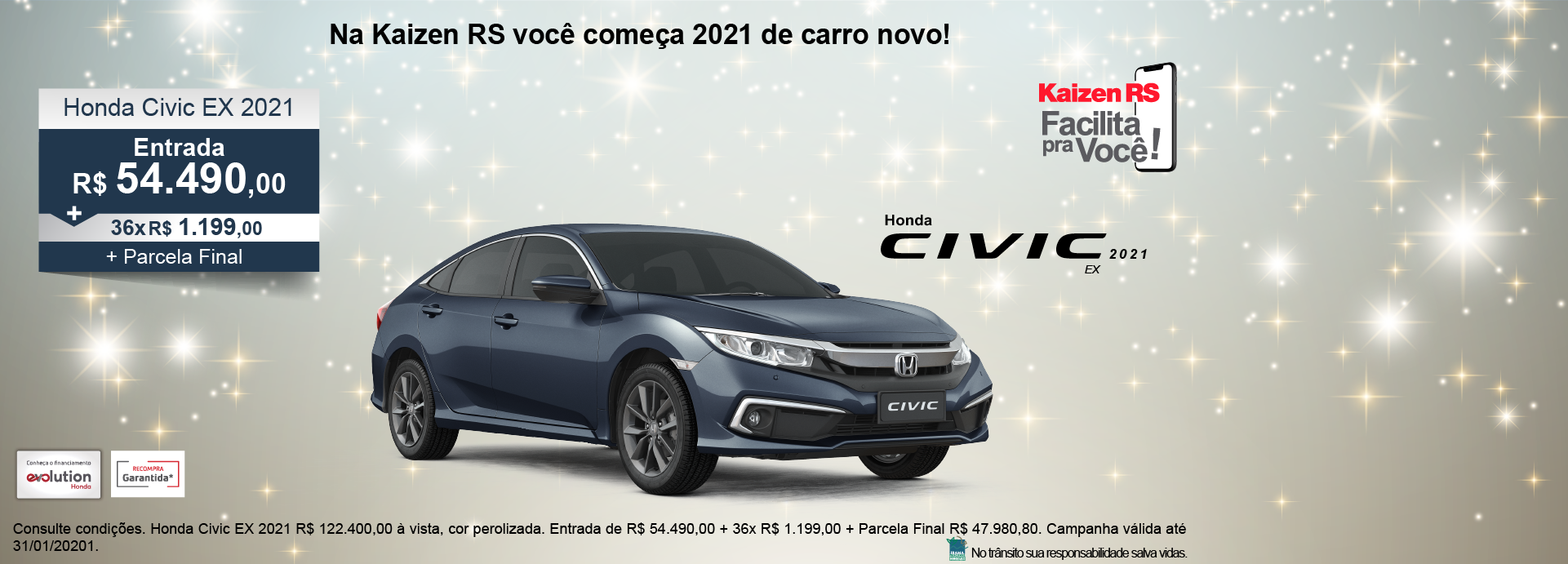 Campanha Honda Civic