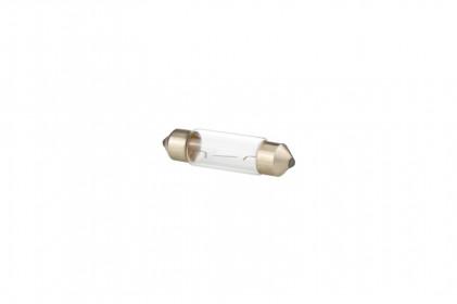 Lâmpada Miniatura C10W I 12V 10W SV8.5 - 11mm X 36mm Tech One