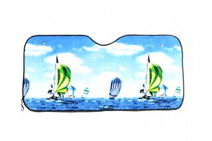 Quebra-Sol com Imagem de Barcos a Vela Tech One