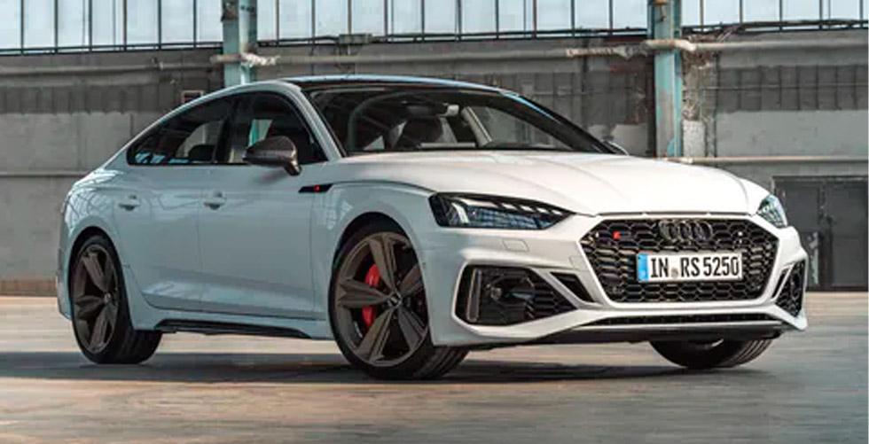 Desempenho com potência. O Audi RS 5 Sportback.