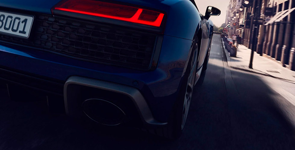 Audi R8. Uma escolha. Mais de 1,5 milhão de combinações.