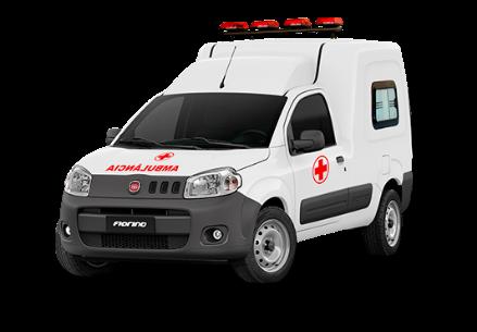 fiat fiorino endurace flex 1.4 adaptada para ambulancia