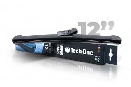 "Palheta Automotiva Soft DTL Traseira 12"" Tech One"