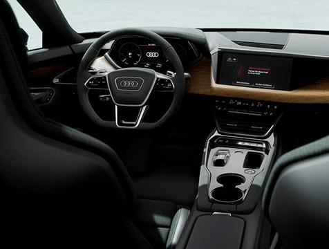 imagem interior carro audi rs e-tron gt