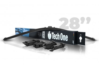 "Palheta Automotiva Soft Smart 4 Encaixes 28"" Tech One"