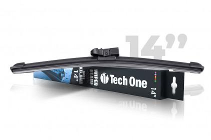 "Palheta Automotiva Soft DTL Traseira 14"" Tech One"