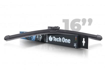 "Palheta Automotiva Soft DTL Traseira 16"" Tech One"