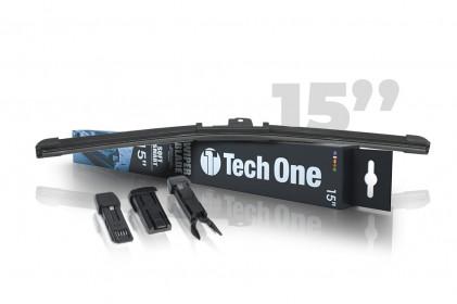 "Palheta Automotiva Soft Smart 3 Encaixes 15"" Tech One"