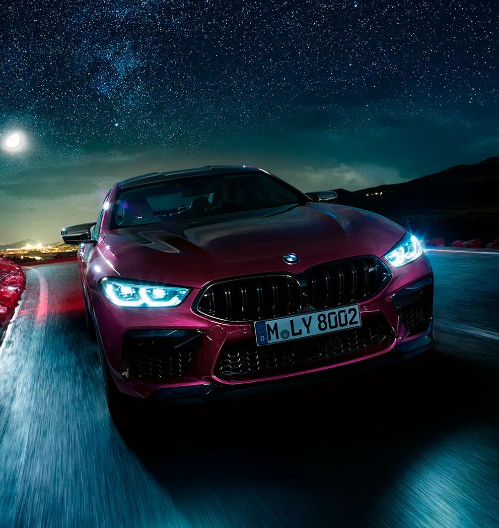 BMW M8 Gran Coupé Competition