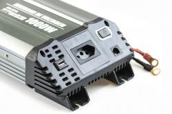 Inversor de Voltagem 1000W Sinusoidal 12V - 110V Tech One