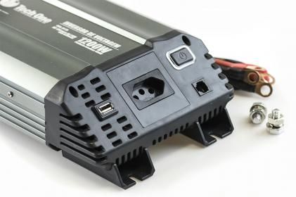 Inversor de Voltagem 1200W 12V - 110V Tech One