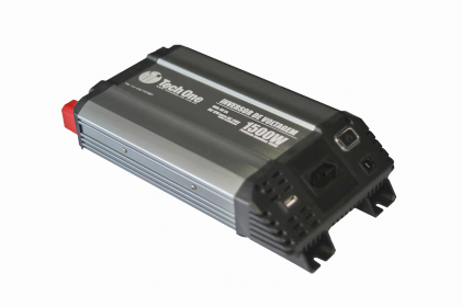 Inversor de Voltagem 1500W 12V - 220V Tech One