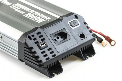 Inversor de Voltagem 2000W 12V - 220V Tech One