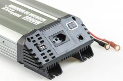 Inversor de Voltagem 3000W 12V - 220V Tech One