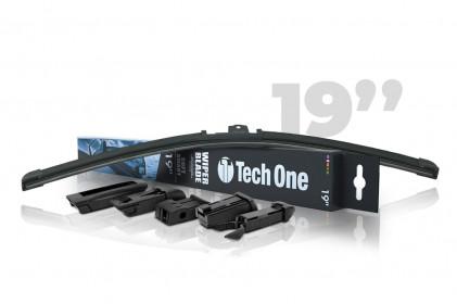 "Palheta Automotiva Soft Smart 5 Encaixes 19"" Tech One"