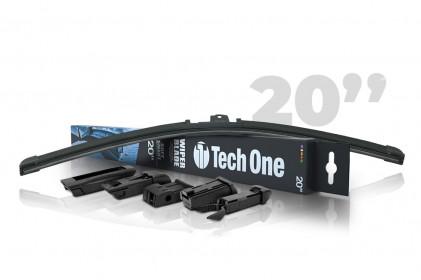 "Palheta Automotiva Soft Smart 5 Encaixes 20"" Tech One"