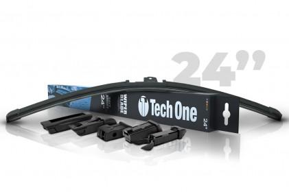 "Palheta Automotiva Soft Smart 5 Encaixes 24"" Tech One"