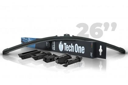 "Palheta Automotiva Soft Smart 5 Encaixes 26"" Tech One"