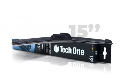 "Palheta Automotiva Soft 15"" Tech One"