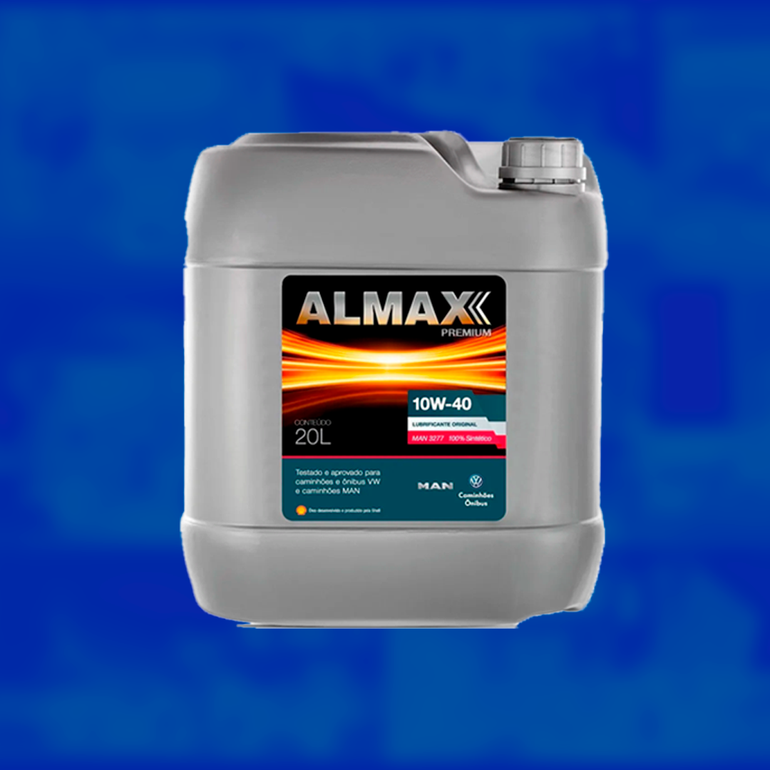 Óleo de motor sintético Almax 10w40 original Volkswagen