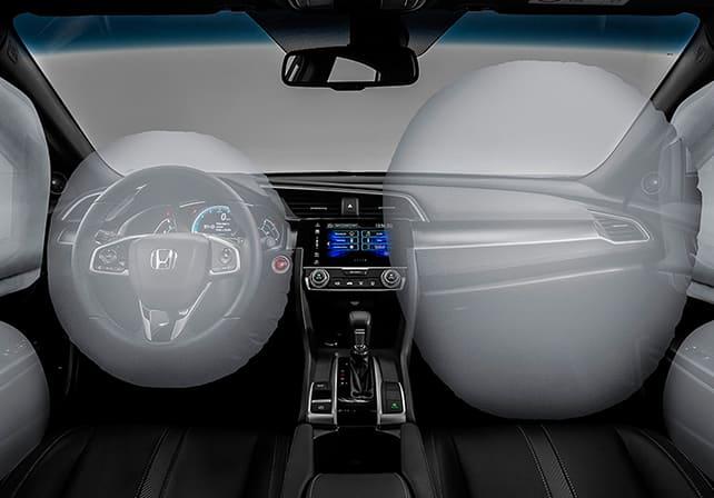 airbag lateral frontal cortina honda city
